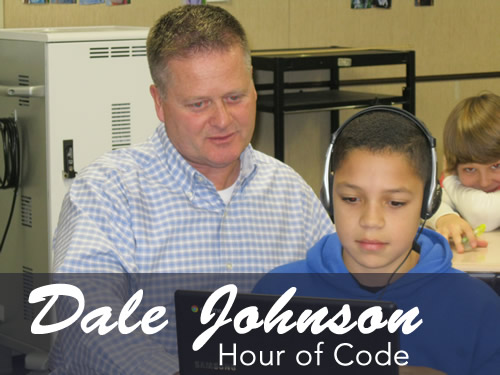 Idaho's Dale Johnson's Hour of Code
