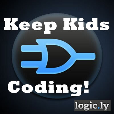 Keep Kids Coding! Logic.ly