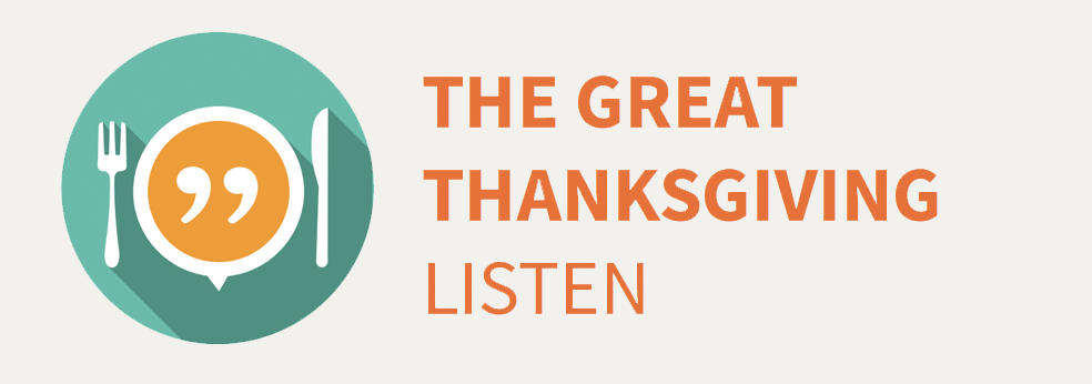 The Great Thanksgiving Listen by Storycorps Inc