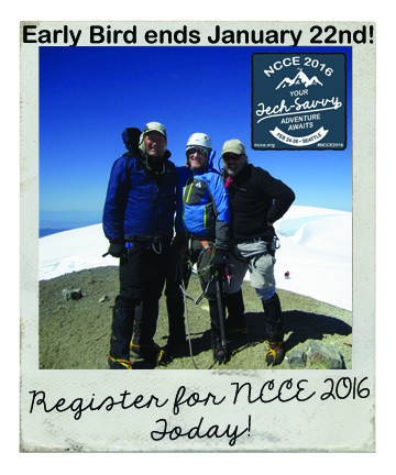 Early bird Registration ends Friday for NCCE 2016!