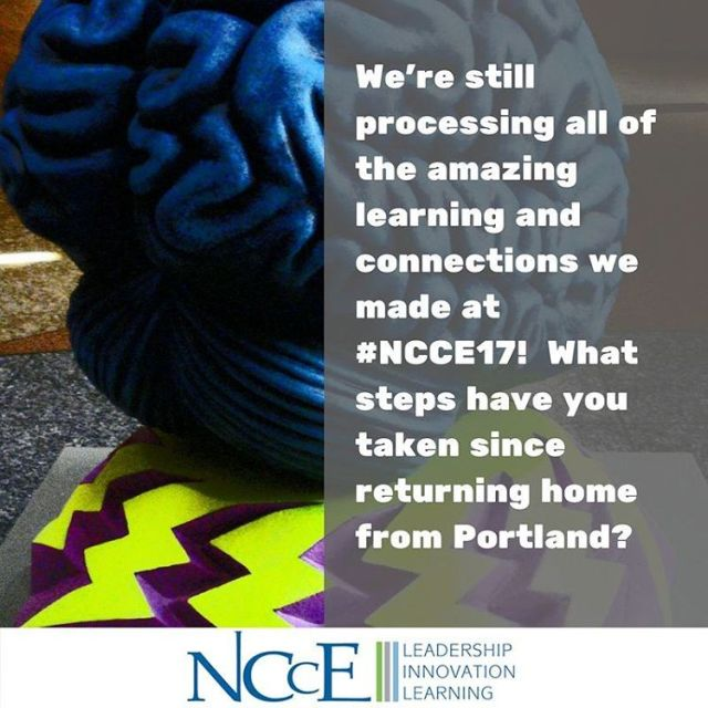 Were still processing all of the inspiring information from NCCE17hellip