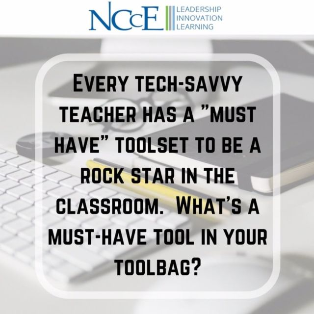 Whats the musthave tool in your toolbag? edtech nccechat teachersofinstagram