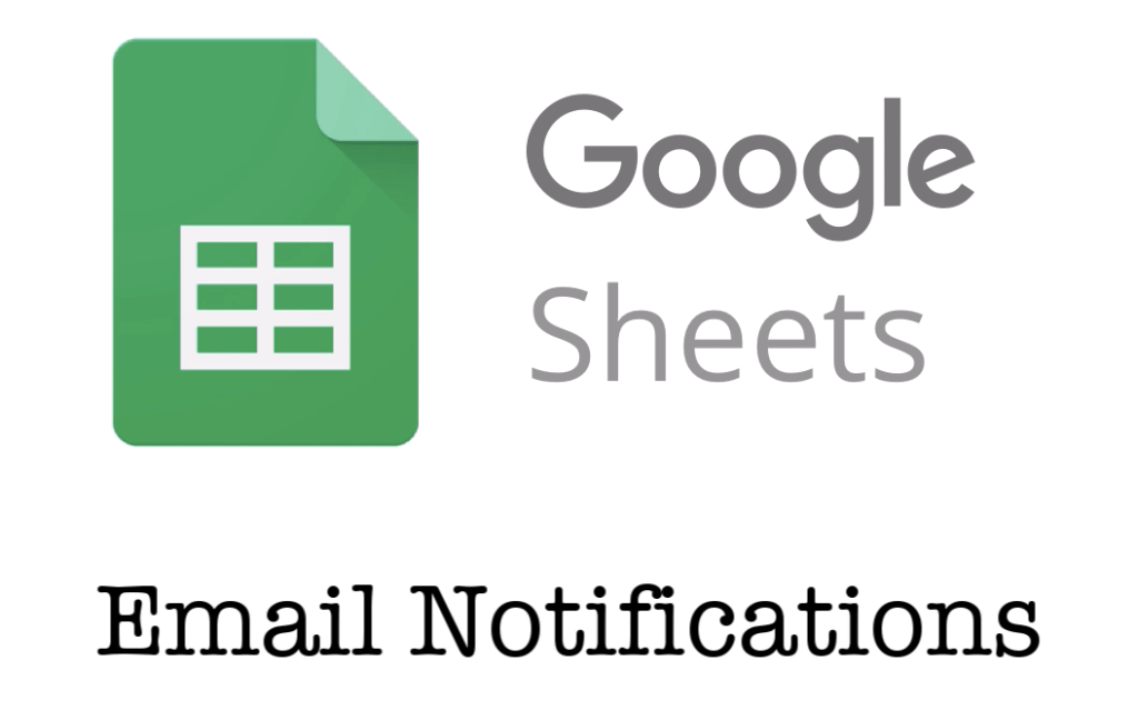 Tech Savvy Tip: Google Sheets Email Notifications