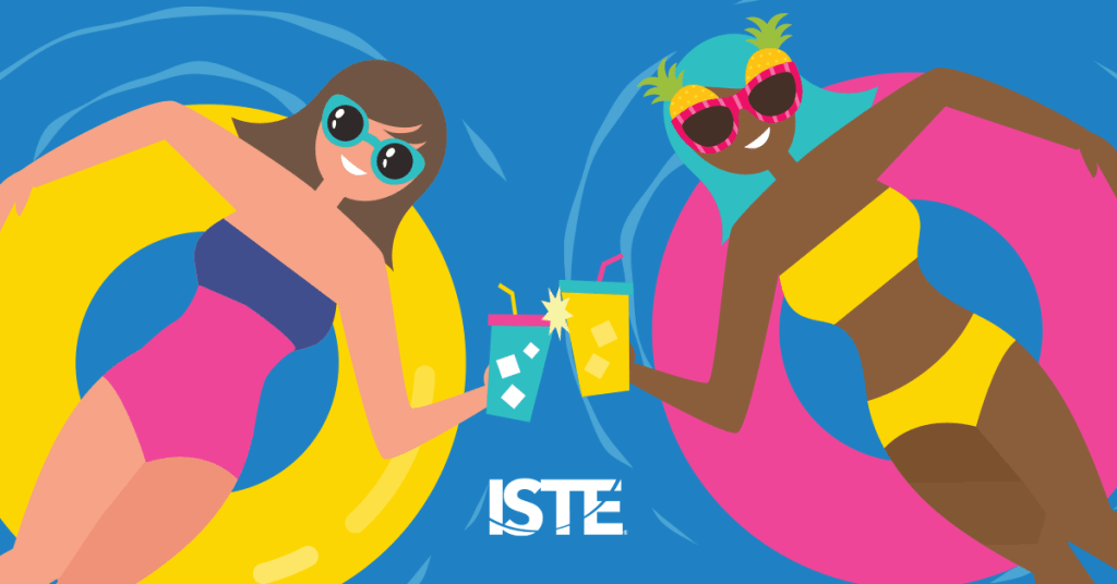 Free Summer PD from ISTE!