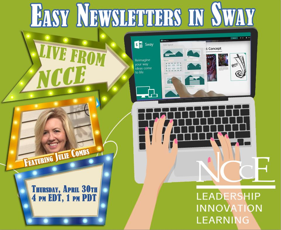 """Live from NCCE Archive: """"Easy Newsletters in Sway"""""""