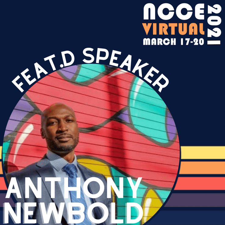 Meet NCCE 2021 Featured Speaker: Dr. Anthony Newbold