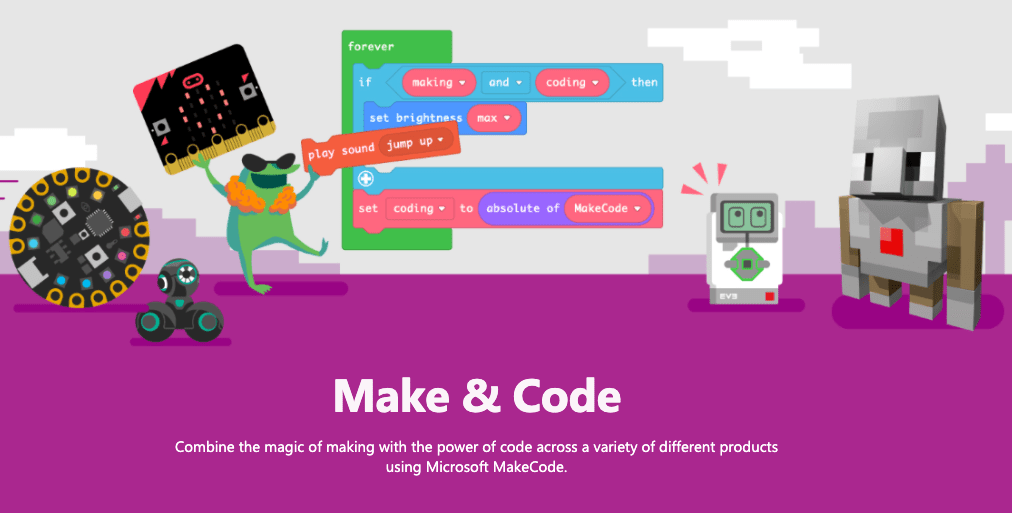 End your school year with Makecode!
