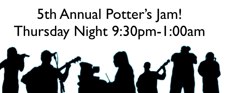 The 5th Annual Potter's Jam