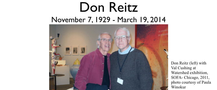 NCECA remembers Don Reitz