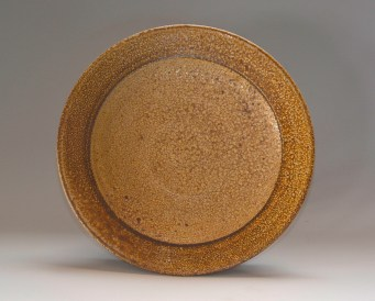 "Mark Shapiro 9.25"" x1.25""h Wood-fired, salt-glazed stoneware, 2013."