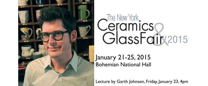 Connect with NCECA at the New York Ceramics and Glass Fair!