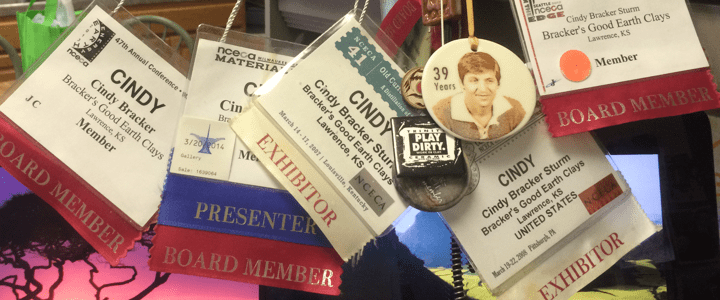 Inside NCECA, Vol I, issue 6 – Who's who -Decoding the name badge