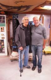 I love this picture of Peter Held with Don Reitz. Don will definitely be with us in spirit at this conference as he was at the last. Peter Held will be speaking about Don at the Past Masters session
