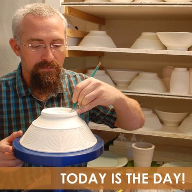 Adam Field, you may have heard of the hidenseekah game, which may be resting this year....stay tuned for more on that.....Adam is also a social media master and amazing maker of carved pottery