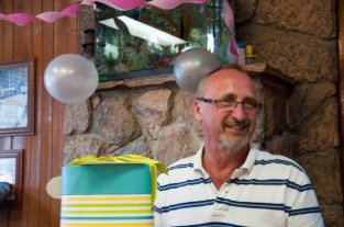 Frank Tucker, owner of Cone Art Kilns and Tucker's Pottery Supply one of the most charming men at NCECA.