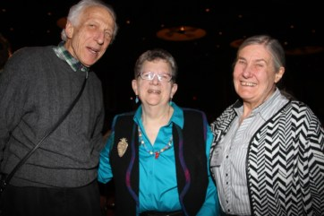 Leonard & Allison Shurz come all the way from England to join the NCECA Collector's tour!. Here they are with Cynthia Bringle, last year's closing speaker and treasured potter