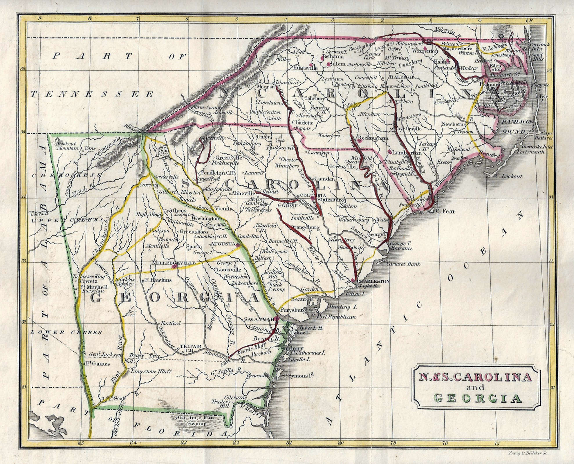 What Map Is This NC Canals Are Key North Carolina Map BlogNorth - Map nc