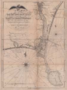 A Map of Cape Fear River