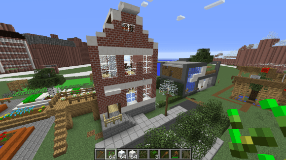 Minecraft - Amsterdam house