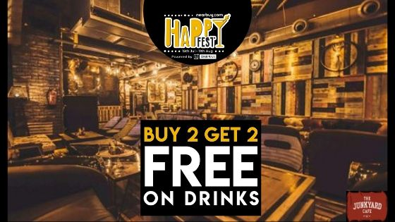 Delhi! The Junkyard Cafe Is The Host Of The Happy Fest & It's Legendaarrryyy!!