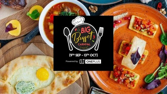 Appetizing Grilled Delicacies served At Sigree-Adyar with The Big Buffet Carnival