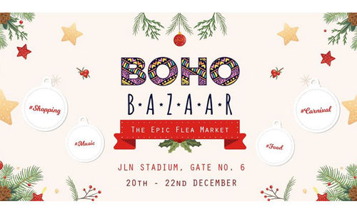 Welcome to the Boho Bazaar – The Epic Flea Market & Shopping Festival, New Delhi
