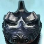 ビリケン商会 メカゴジラⅡ 眼の2次原型と頭のすり合わせ