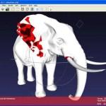 3Dオブジェクトの確認・変換に便利なフリーウェア『MeshLab』