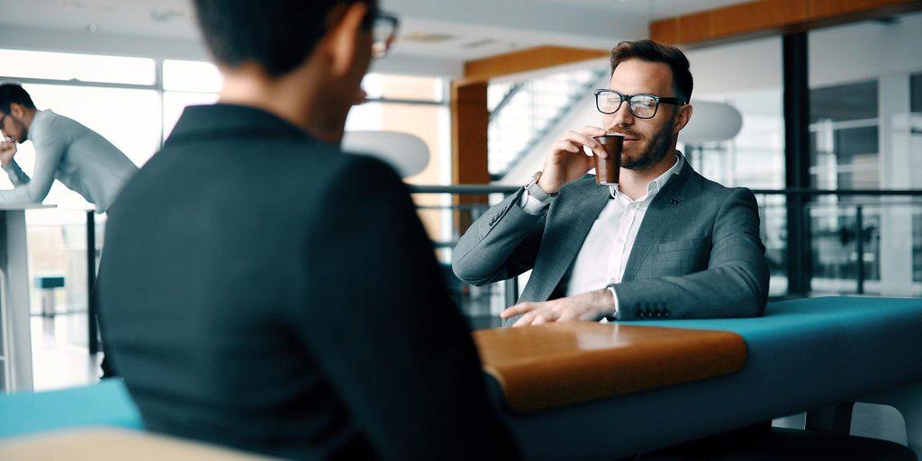 fale com a pessoa certa - apresentação de vendas