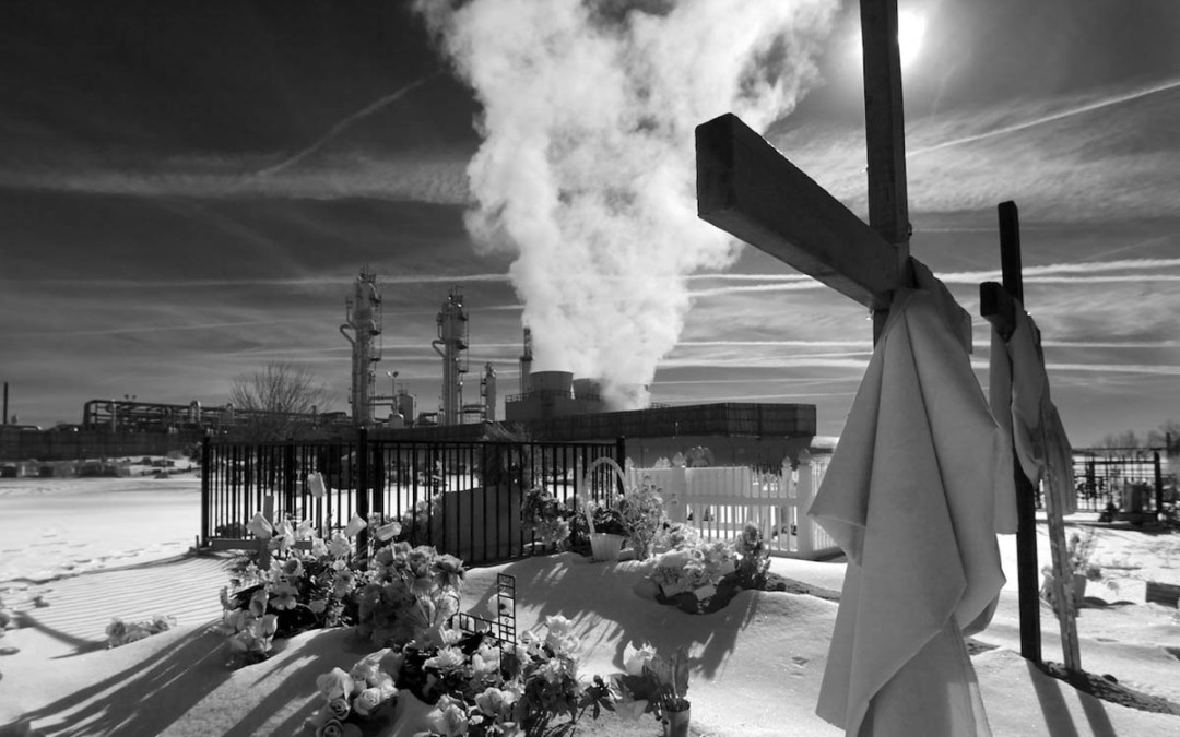Refinery and Cemetery