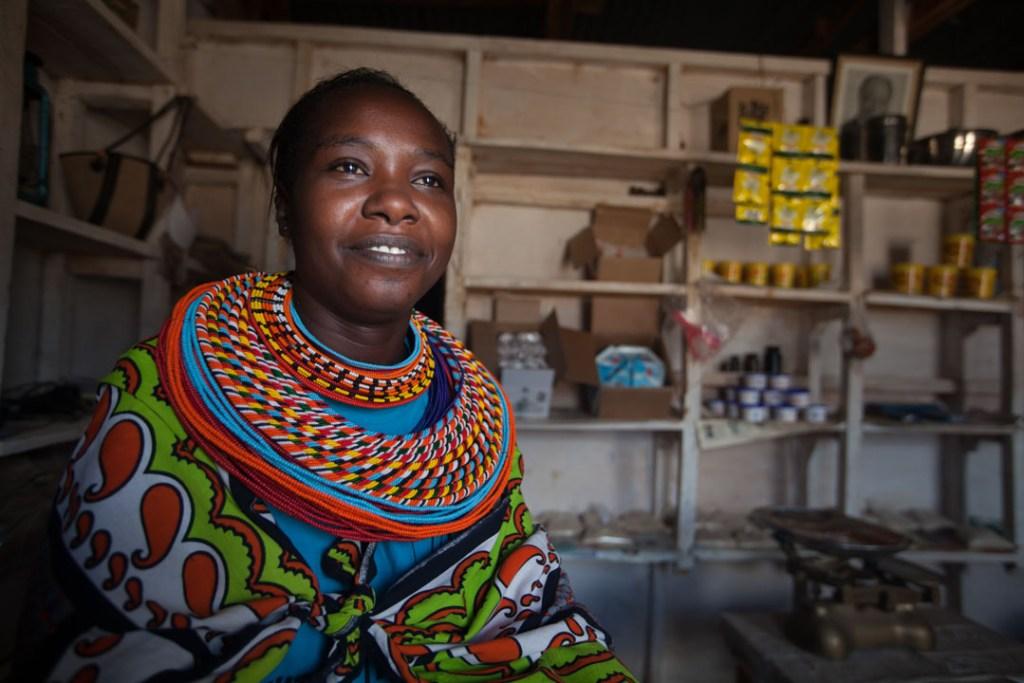 Samburu woman in shop, Northern Kenya   Photo by Nelson Guda © 2019
