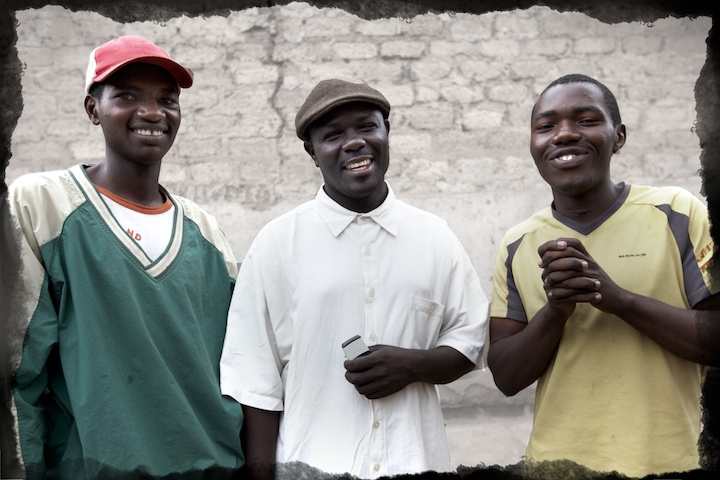Fred, Joseph and Jemimah from the Mathare slums