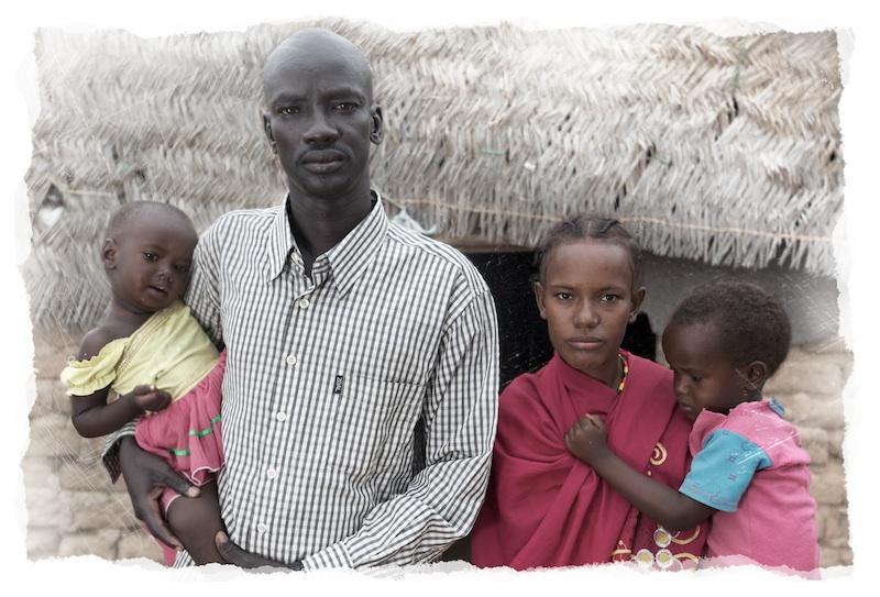 Mixed ethnic couple in Wanjyok, South Sudan   Photo by Nelson Guda © 2019
