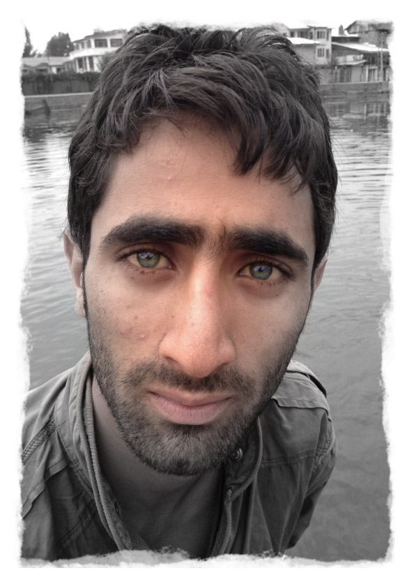 Kashmiri young man