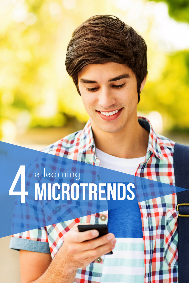 Top 4 microtrends in e-learning
