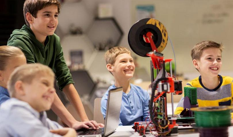3d printing, students