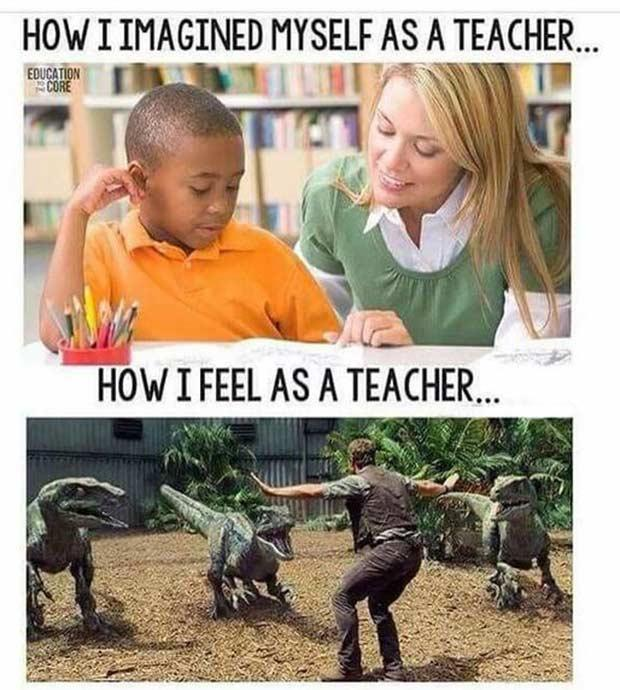 Teacher meme - Wishful thinking