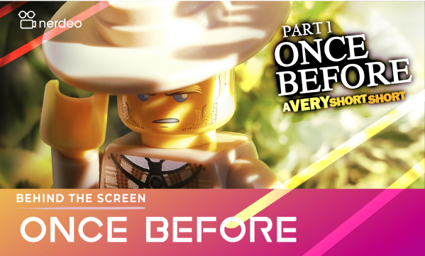 Featured Project – LEGO ONCE BEFORE