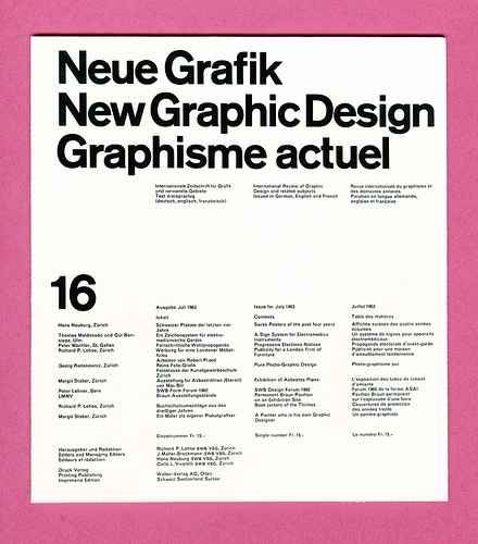 Swiss Design History