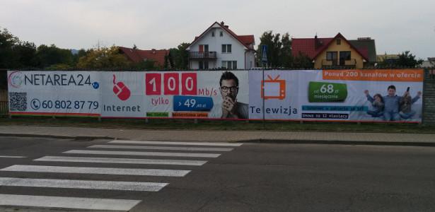 Reklama Piłsudskiego Rumia