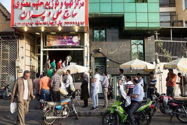 آش معنوی پر طرفدار ترین آش فروشی تهران