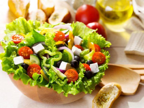 تاثیر مصرف سالاد سبزیجات بر کاهش وزن