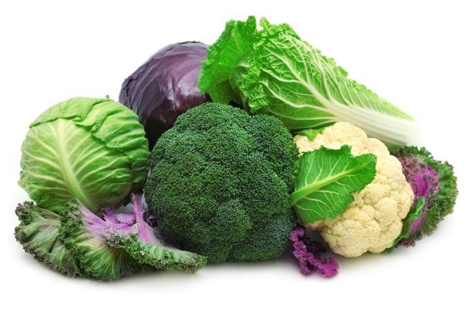 سبزیجات کریستالی یا چلیپایی بهترین گزینه بعنوان شام رژیمی