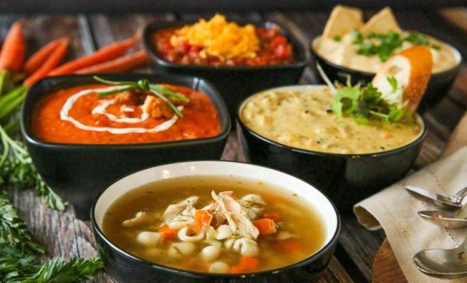 سوپ ها کامل ترین غذاهای رژیمی