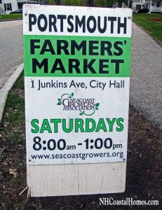 Portsmouth NH farmer's market