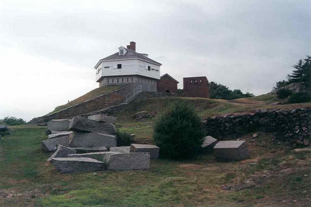 Fort McClary Boathouse