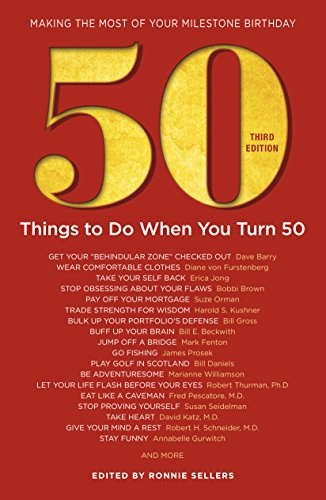 50 Things to Do List on Her 50th Birthday