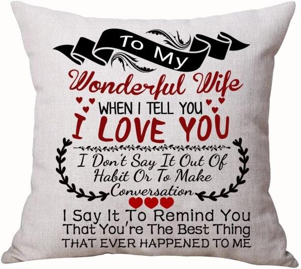 Wonderful Wife Pillowcase