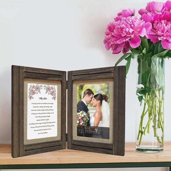 Customized Romantic Love Poem Plus Frame