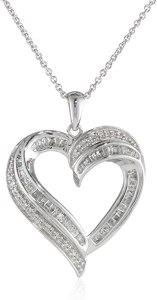 White Diamond Heart